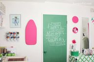 chalkboard painted d