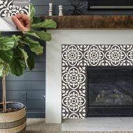 Tile Sticker Kitchen bath floor wall Waterproof & Removable   Etsy
