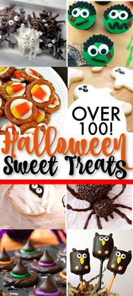 Over 100 Halloween Desserts & Sweet Treats