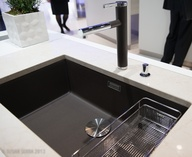 A large single sink