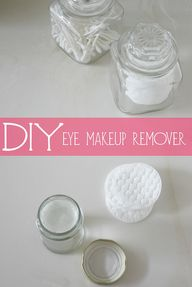 DIY | eye makeup rem