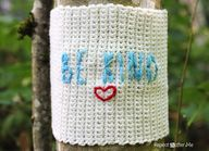 Be Kind Yarn Bomb