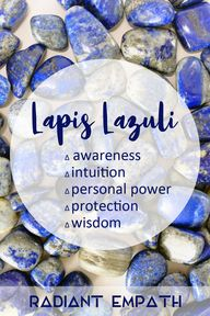 Lapis Lazuli meaning. Learn the metaphysical healing properties of this regal stone, revered by ancient Egyptians and mystics for centuries!