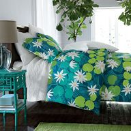Lily Pad Percale Bed