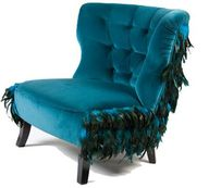 pretty peacock chair