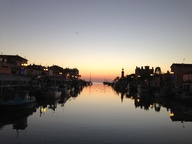 Sunset, Port Camargu