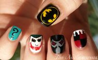 Batman Nail Art  If