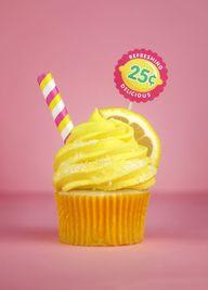 Lemonade Cupcakes | Bakerella