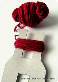 Oh my gosh...This pompom method would be so much quicker and easier than the circle wrap one!!