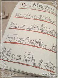 Du côté du Bujo #6 – Une page pour faire attention aux produits quon achète | Blog Agoaye