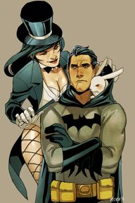 Batman and Zatanna b...