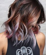 afterward were looking for brunette color inspiration, {} always pops going on in our search. The actresss chocolate-brown roots are her... >>> Click on the image for additional details. (This is an affiliate link) #haircolor