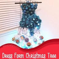 Dress Form Christmas Tree - Sew Crafty Crochet