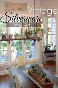 DIY Vintage Silverwa