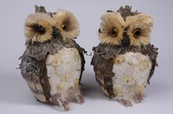 RUSTIC WINTER OWL OR