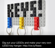 Lego key holder - ju