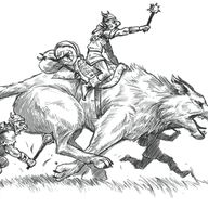 Goblin Warg Rider -