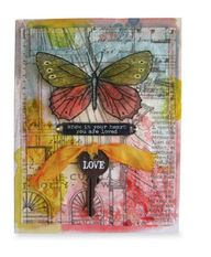 Tim Holtz® Love Card