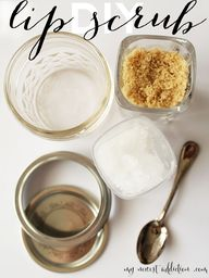 DIY Lip Scrub - My N