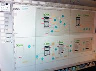 Wireframes and flow
