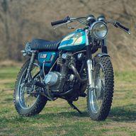 Vintage Honda CL mot