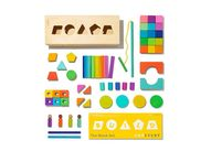 Lovevery 70-Piece Wooden Block Set - The Block Set - Christmas Gift Idea for Kids 2021