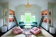 love the bunk beds a