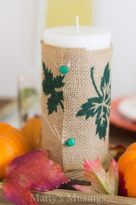 Easy Fall Table Sett