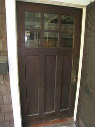 Front door #bungalow #door