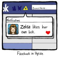 Facebook in Hyrule