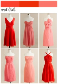 JCrew Bridesmaids in