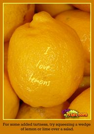 Lemon Tips  #lemons
