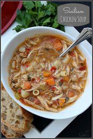 Sicilian Chicken Sou