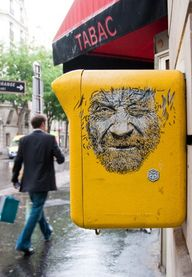 C215 in Paris, Franc