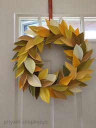 SimpleJoys: Paint Chip Wreath