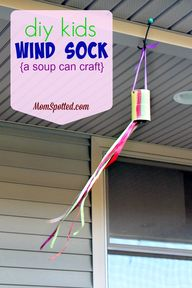 Kids Wind Sock {DIY