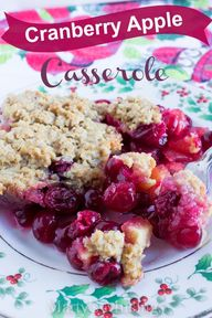 Cranberry Apple Cass