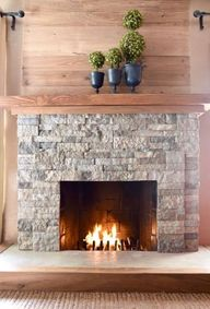 DIY Home Improvement Projects On A Budget - Air Stone Fireplace Makeover - Cool Home Improvement Hacks, Easy and Cheap Do It Yourself Tutorials for Updating and Renovating Your House - Home Decor Tips and Tricks, Remodeling and Decorating Hacks - DIY Projects