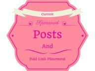 Sponsored Posts Opps