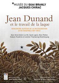 musée du quai Branly - Jacques Chirac - Production - musée du quai Branly - Jacques Chirac - Jean Dunand et le travail de la laque