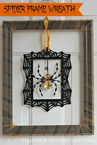 Spider Frame Wreath