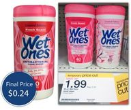 Wet Ones Wipes, Only
