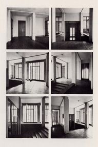 interior of the one house planned by ludwig wittgenstein, vienna 1030