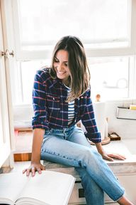 Blogger Kate Brien o