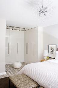 Glossy Bedroom Closets