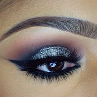 Platinum NYE look
