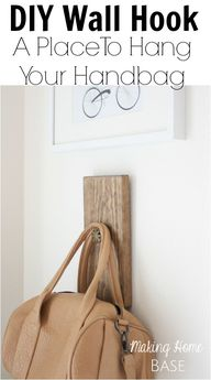 DIY Wall Hook A Plac