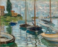 Sailboats. Claude Mo