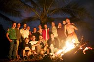 "Bon Fire at New Years Men""s retreat 2015"
