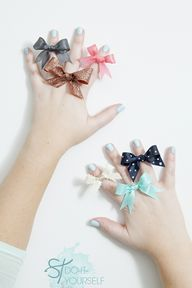 Make bow rings - fro